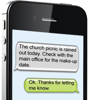 volunteer texting