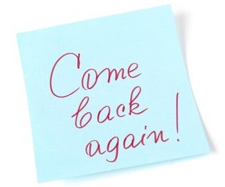 come back again!