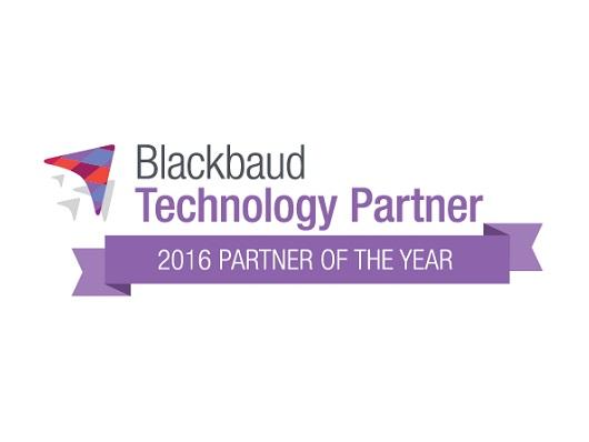 Blackbauds 2016 Technology Partner of the Year