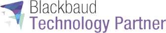 Blackbaud Technology Partner signifying relationship with VolunteerHub