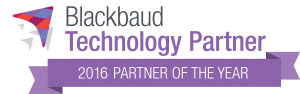 VolunteerHub 2016 Blackbaud Technology Partner of the Year badge