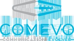 Comevo logo signifying their VolunteerHub partnership